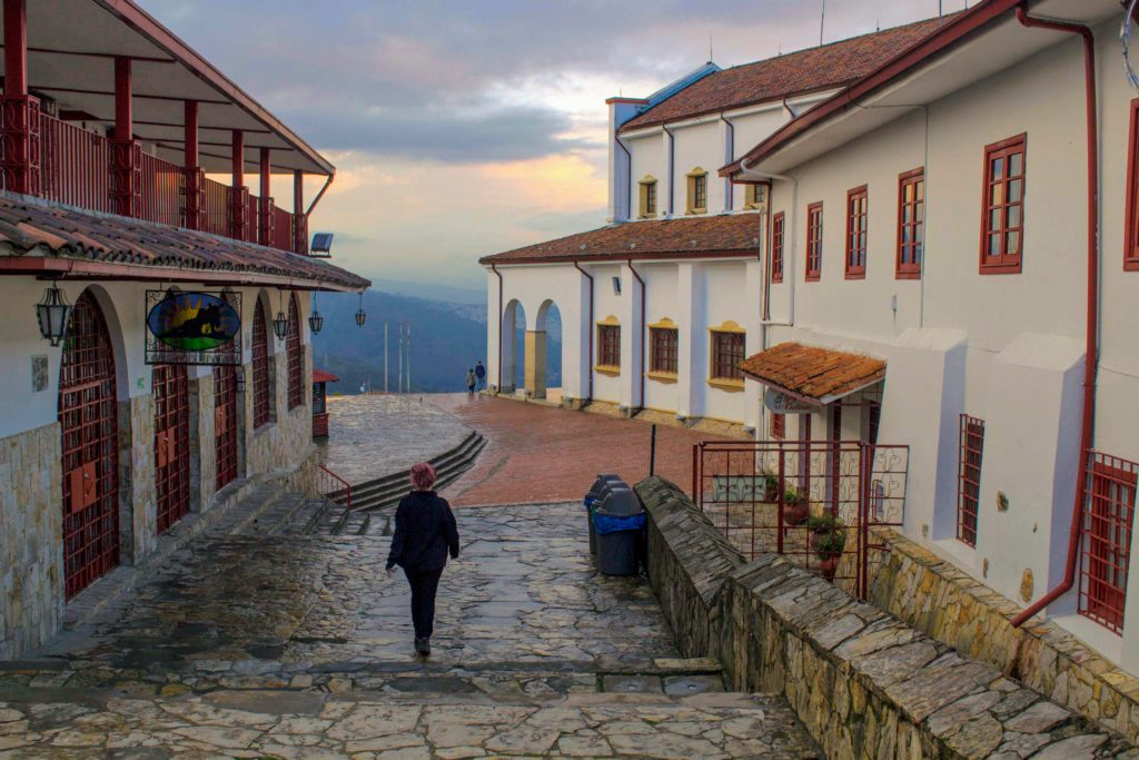 exploring monserrate during a weekend in bogota