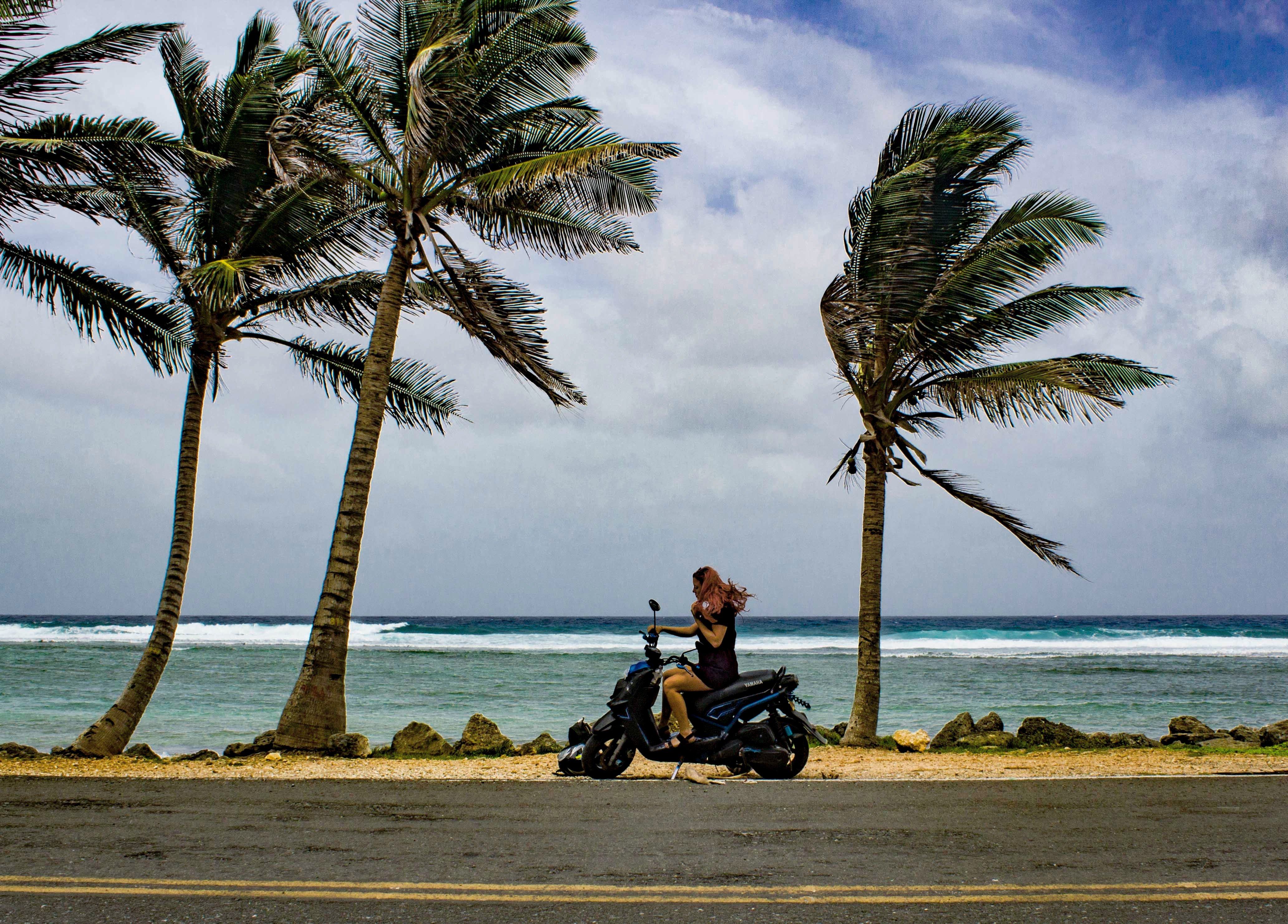 san andres island guide: renting a scooter on san andres island
