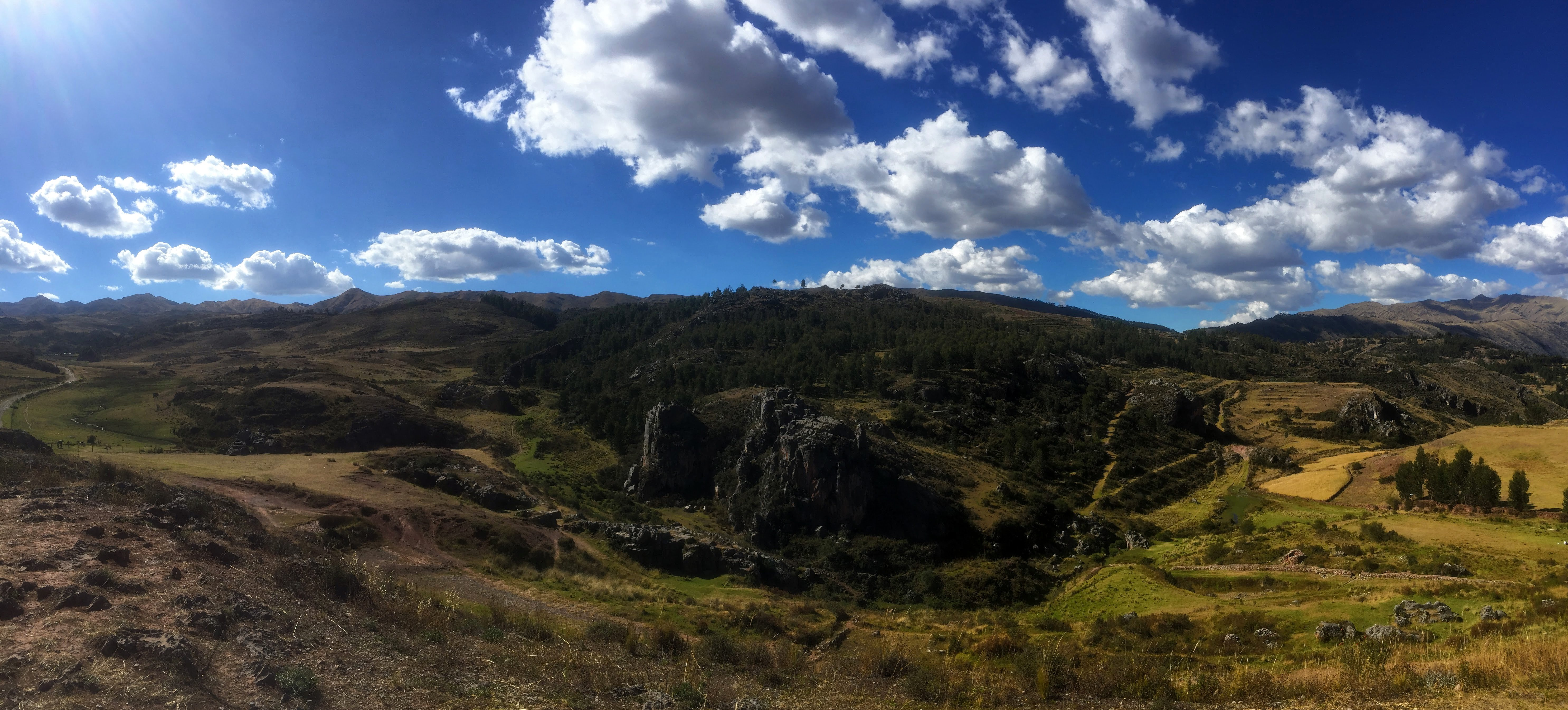 temple of the moon hike in cusco