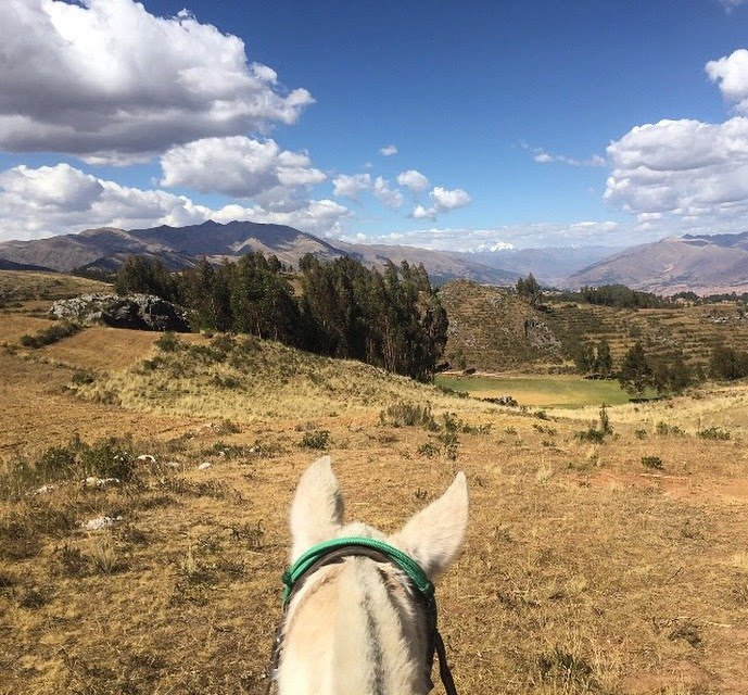 rent a horse to finish your hike in cusco