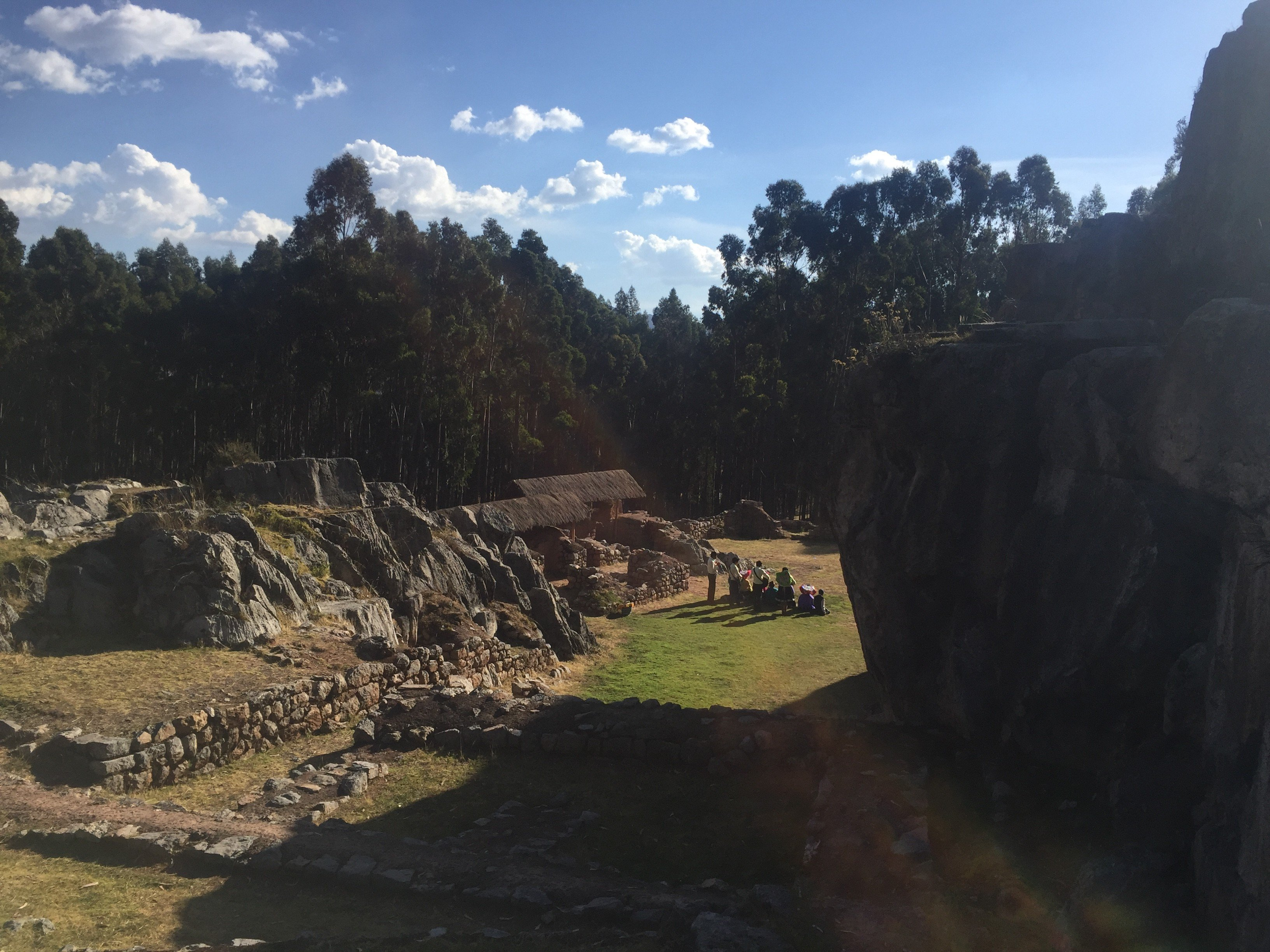 ruins near Cusco