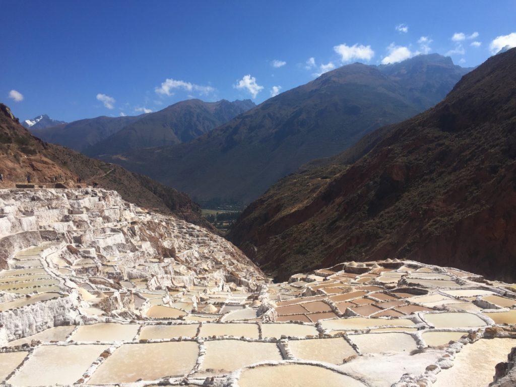 Salineras salt flats in Peru's Sacred Valley