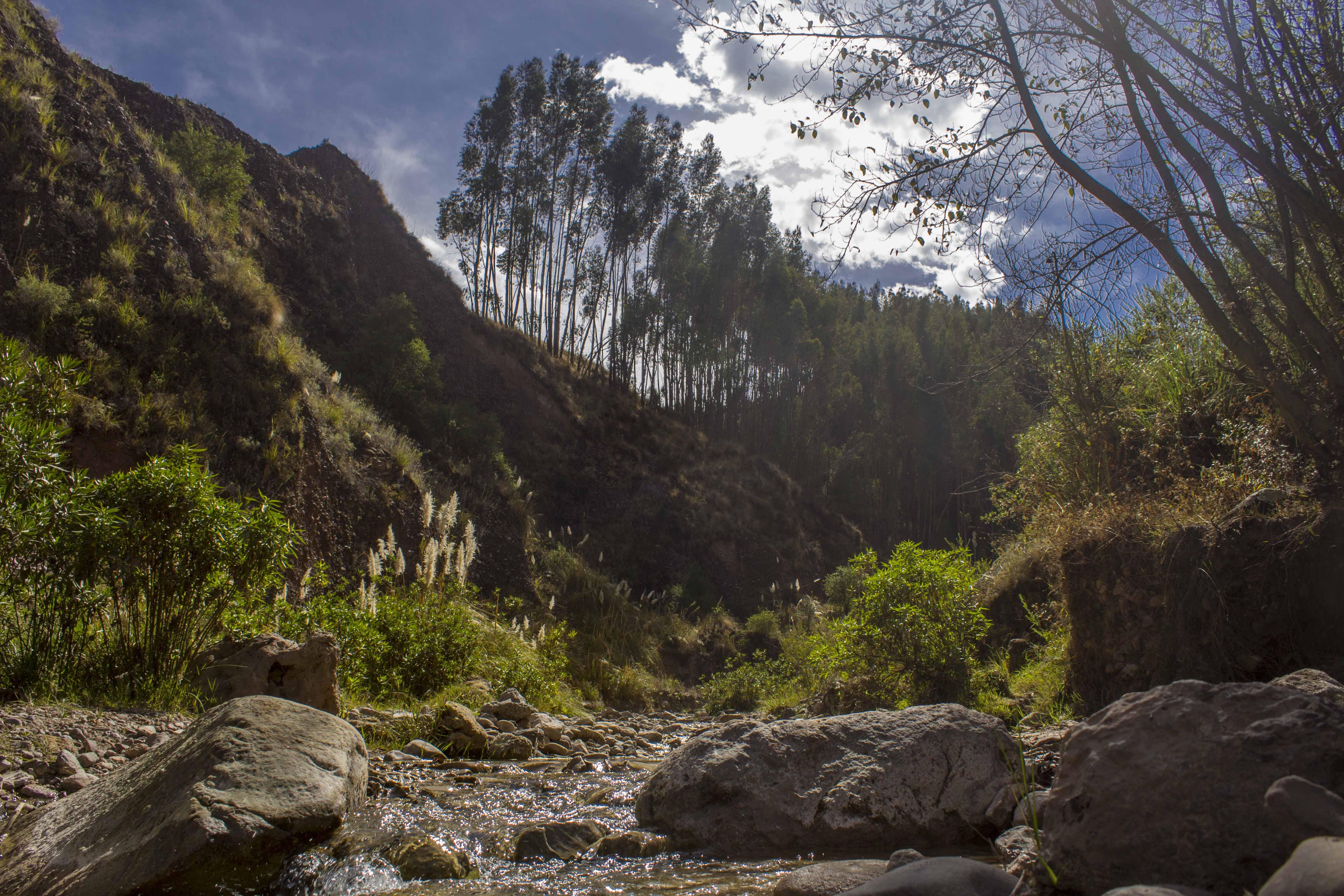 Llaullipata Park in Cusco, Peru