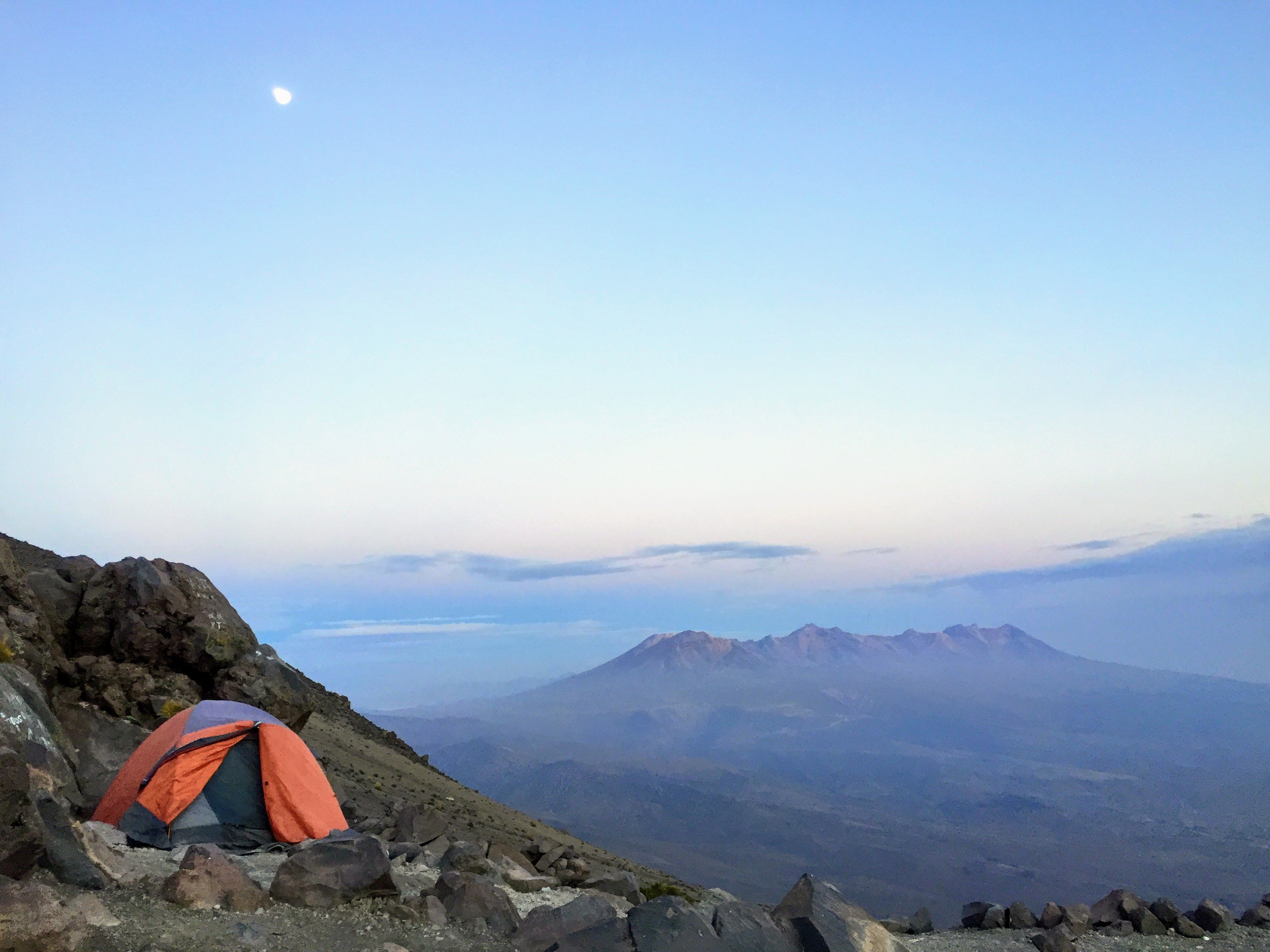 our campsite at 15,000 ft. on El Misti Volcano