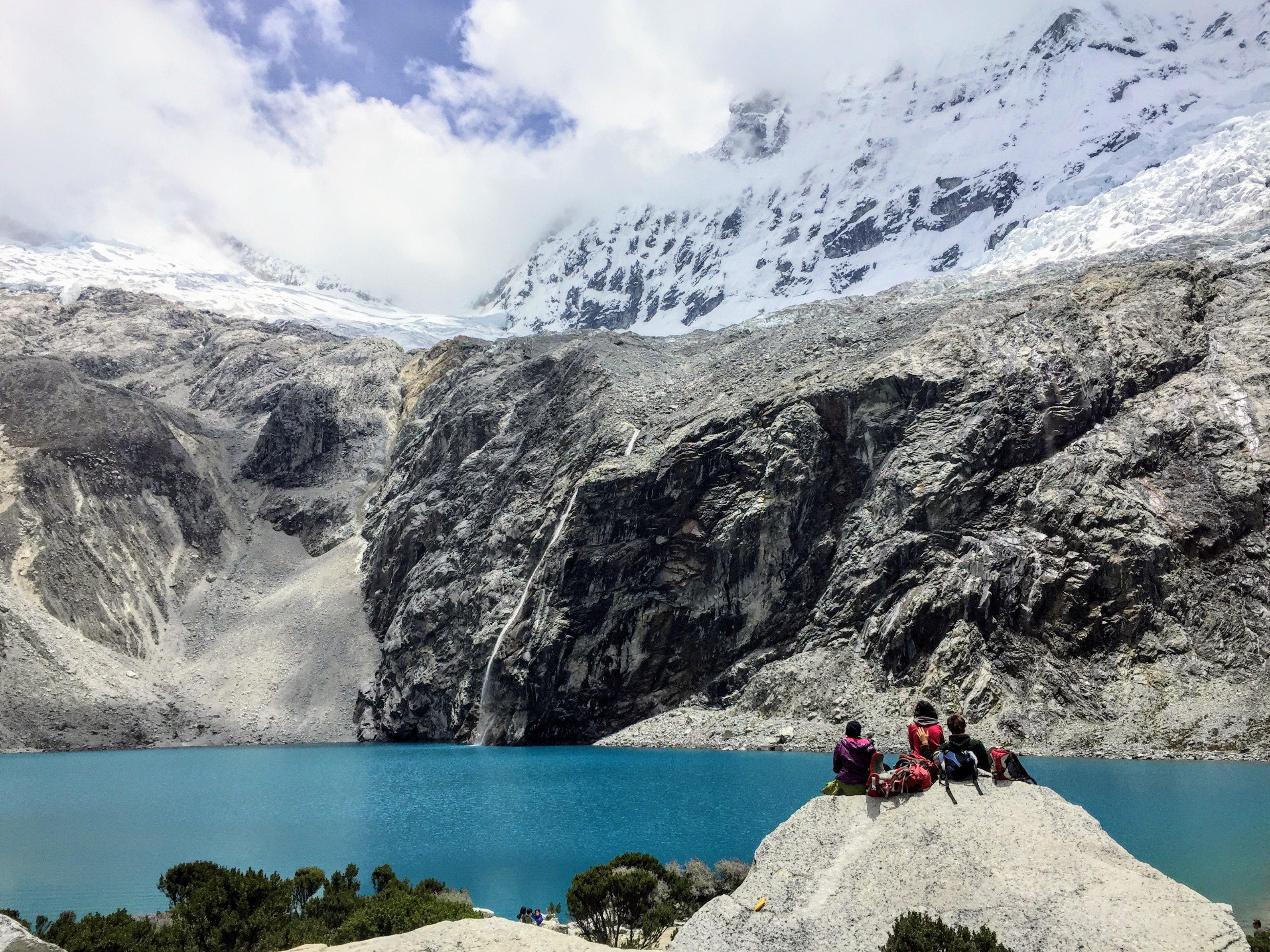 Laguna 69 in Huaraz, Peru