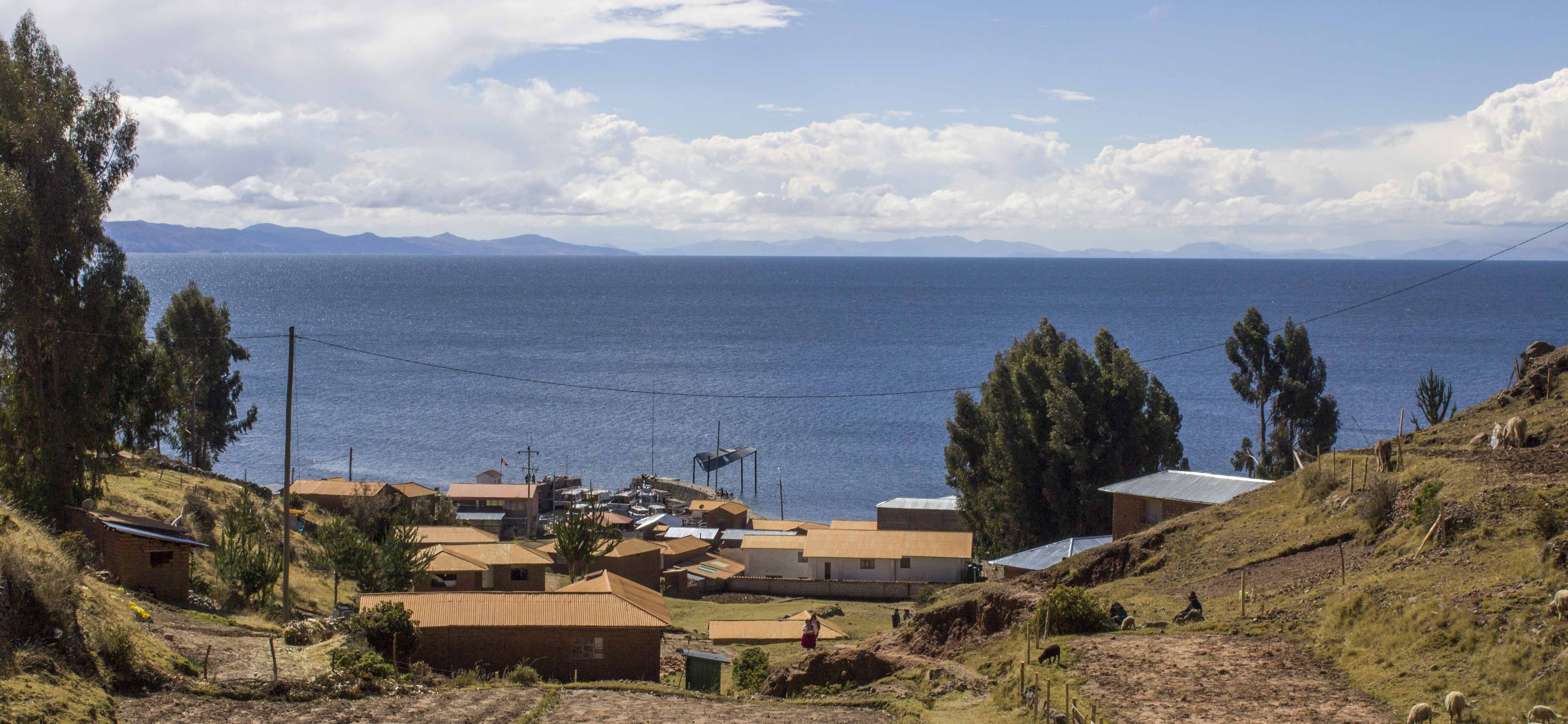 Heading to our homestay on Lake Titicaca