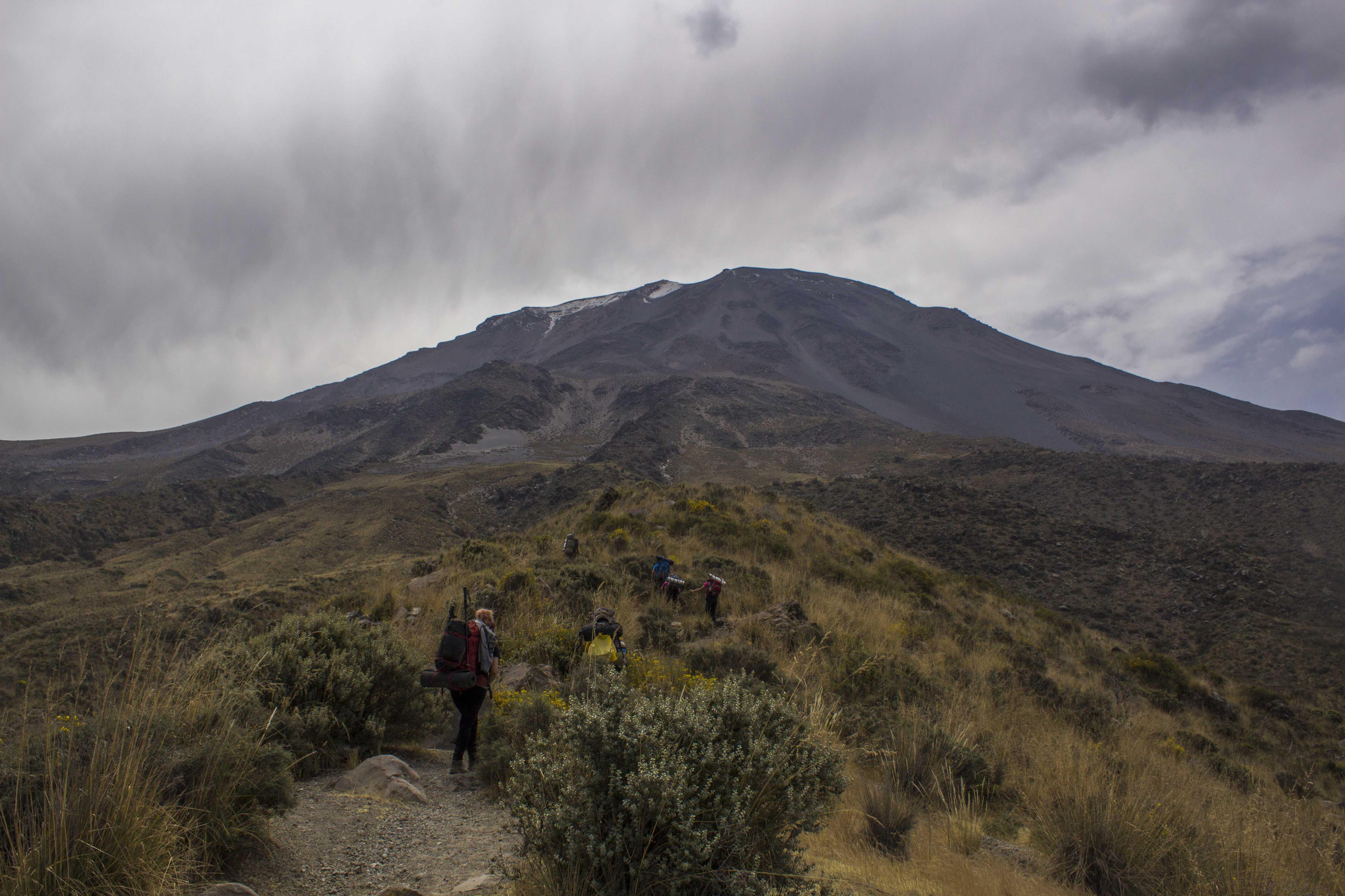 Misti Volcano in Arequipa, Peru
