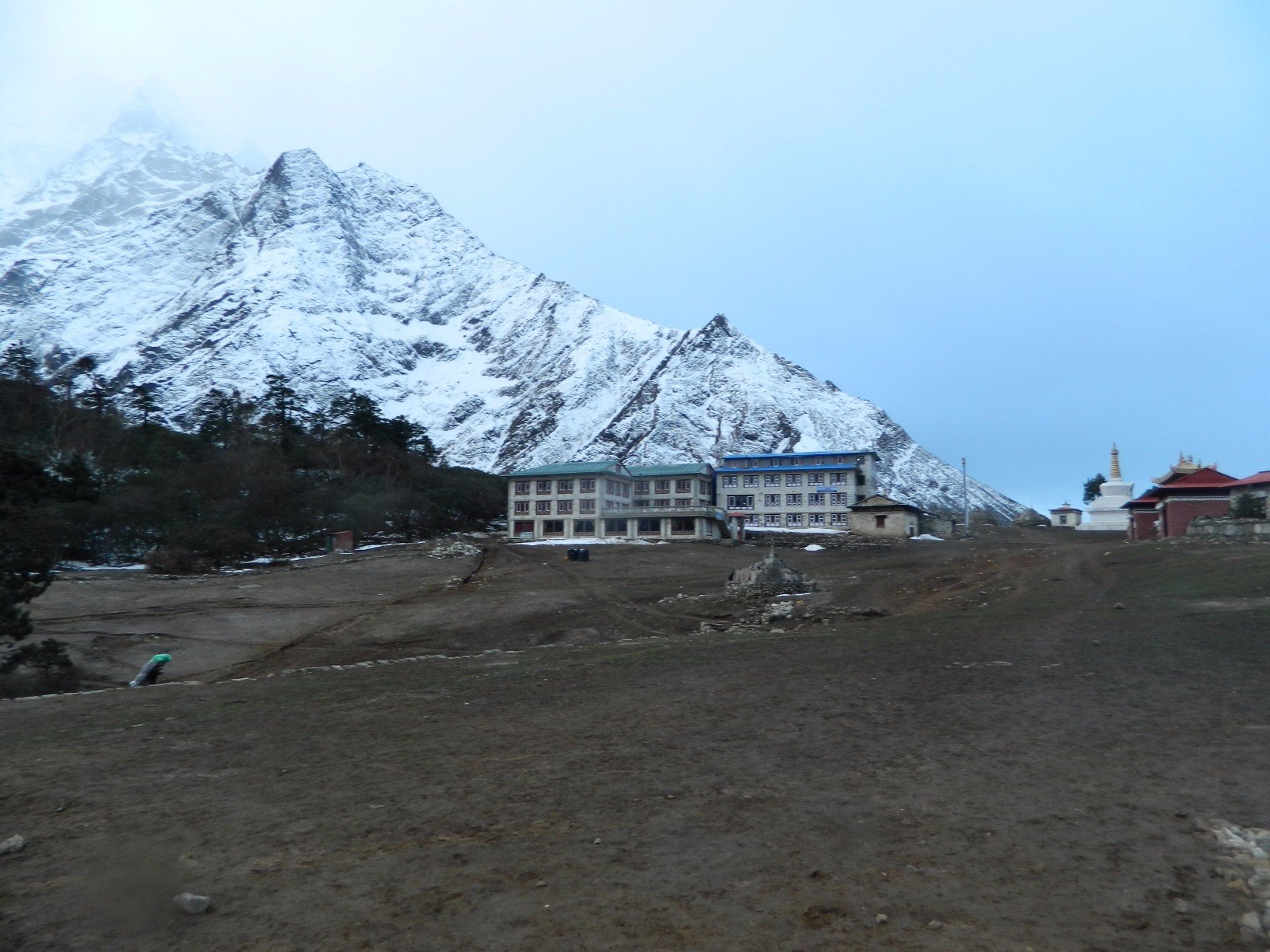 Tengboche, Nepal. The final stop on the Everest View Trek