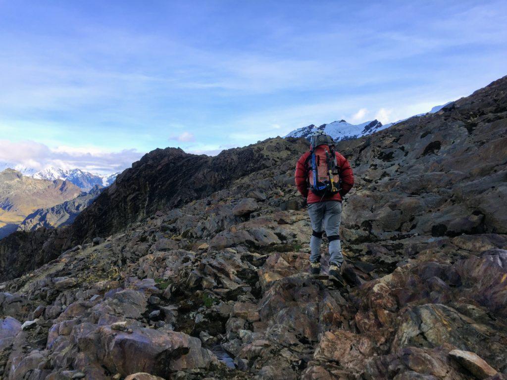 Climbing Mateo Nevado