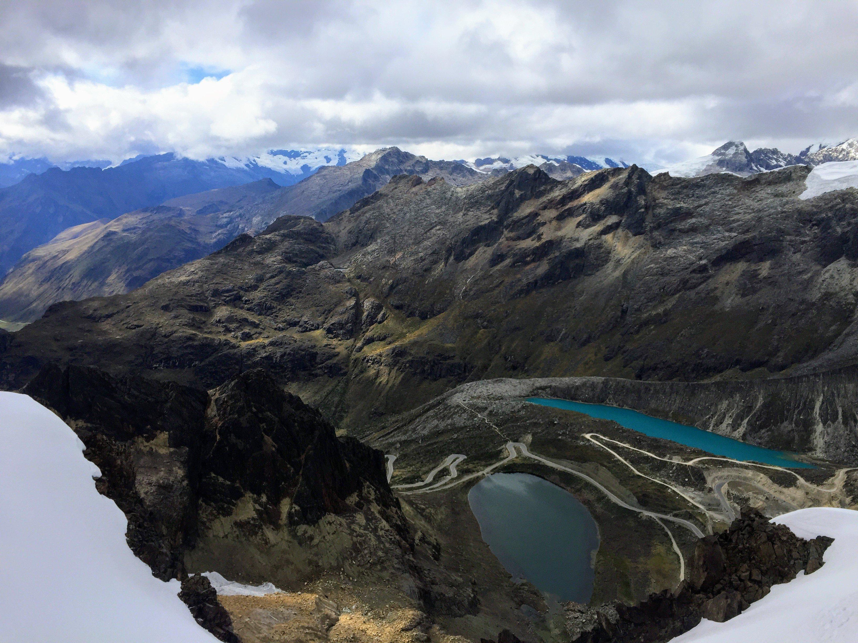 Climbing Nevado Mateo