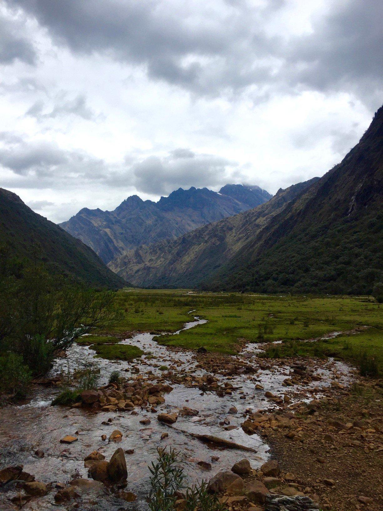 solo hike santa cruz trek day 1