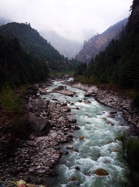 hiking the Everest View Trek in Nepal