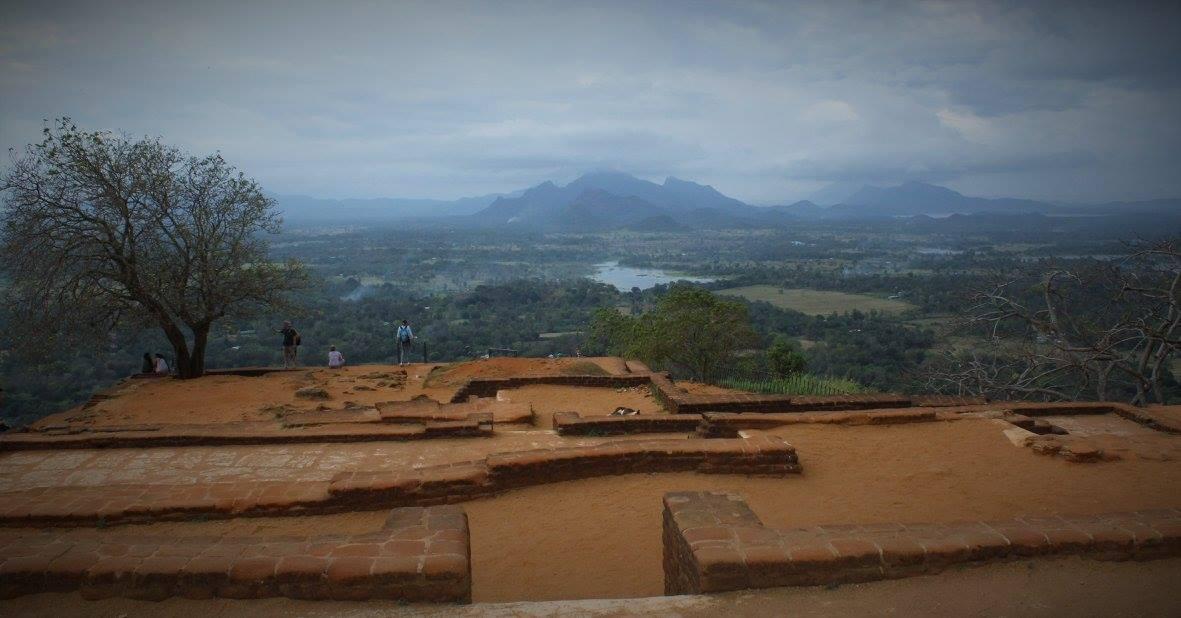 Sigiriya Rock in Sri Lanka's cultural triangle