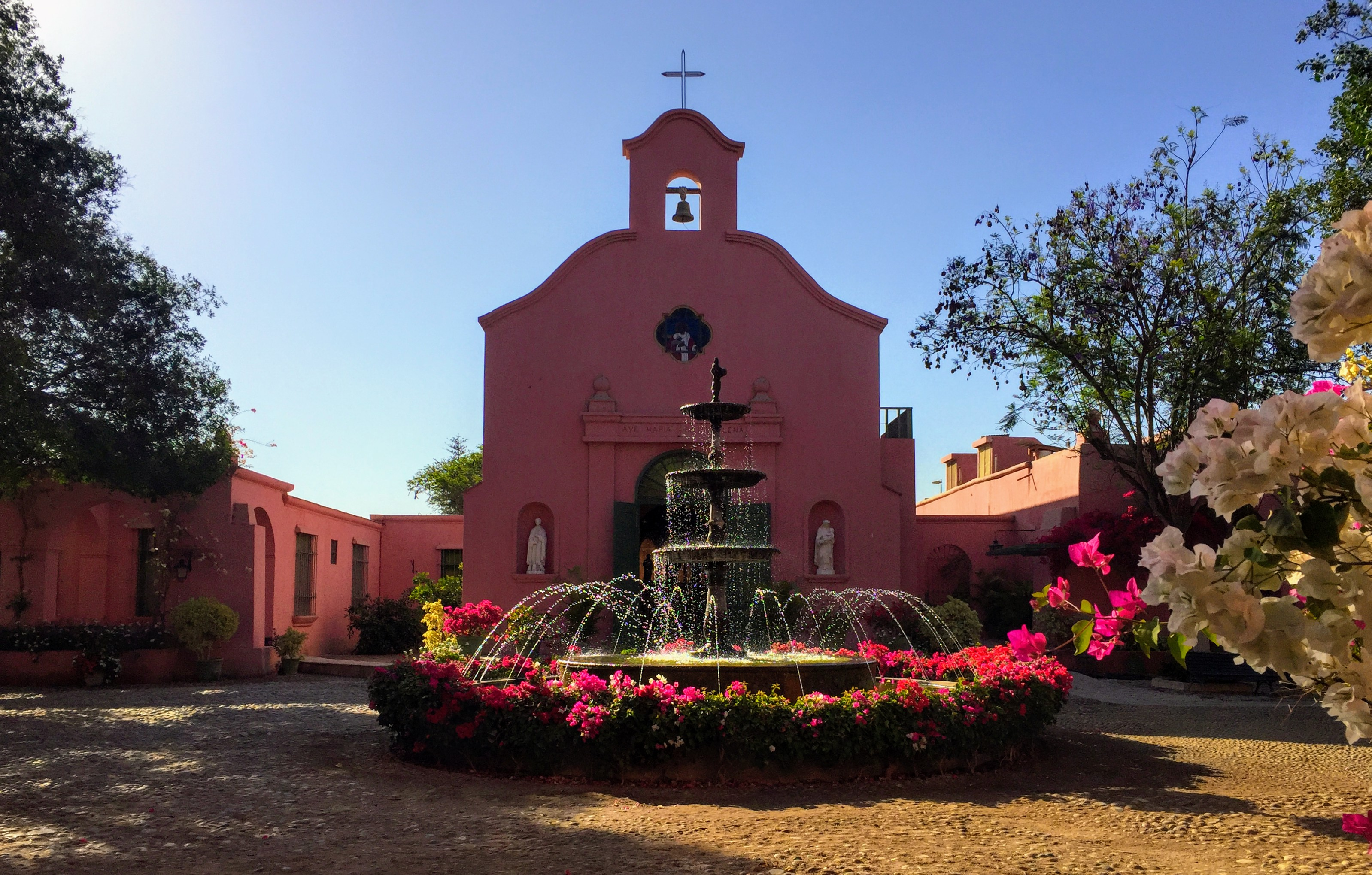 Tacama Winery, the oldest winery in Peru