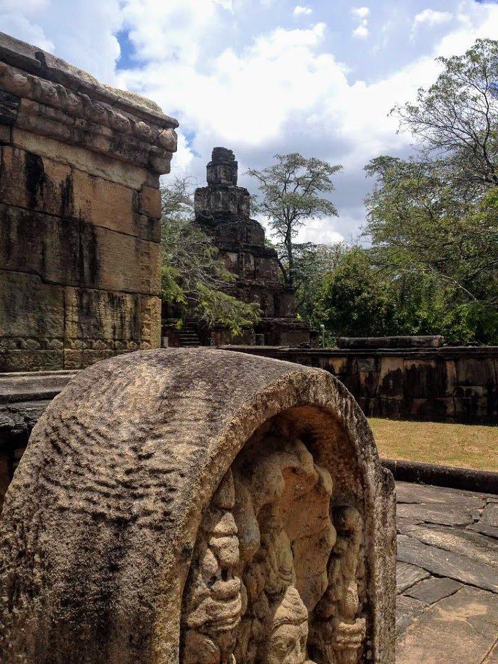 Polonnaruwa ruins in Sri Lanka's cultural triangle