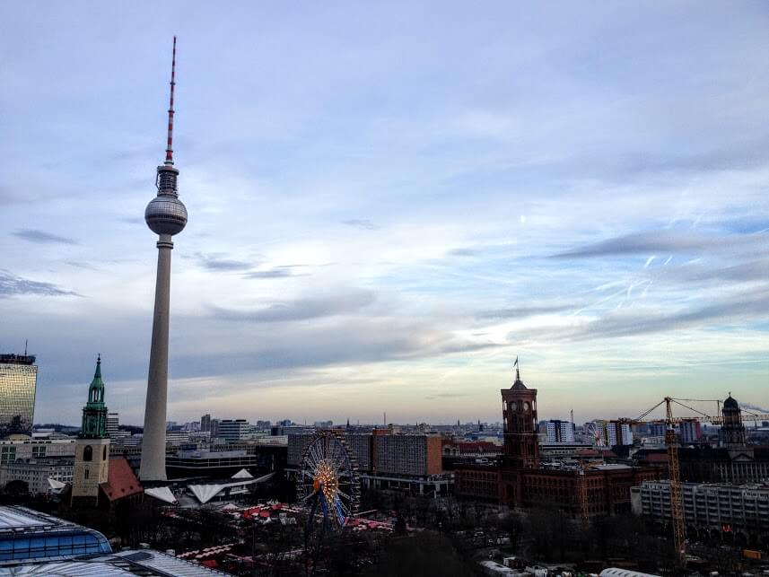 Alexanderplatz Christmas market in Berlin