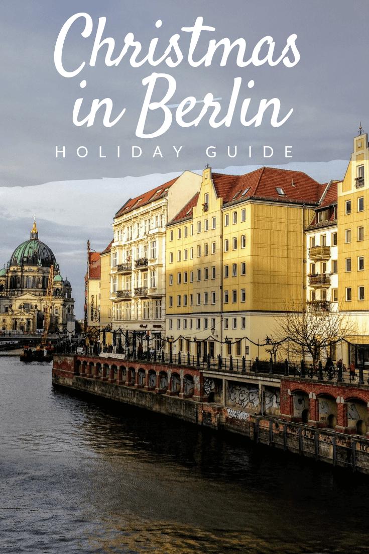 Christmas in Berlin Pinterest pin