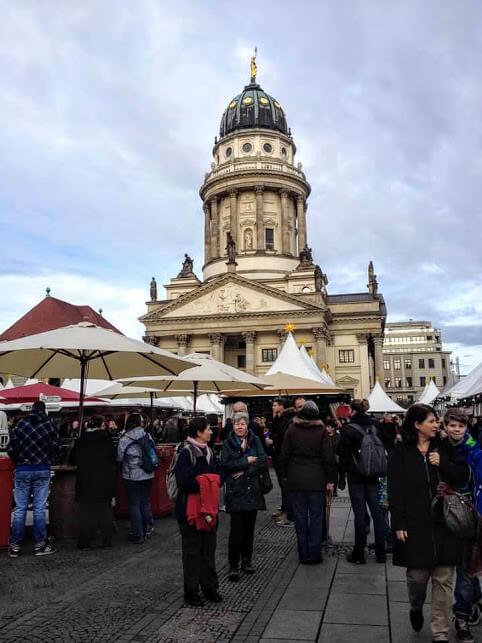 Gendarmenmrkt Christmas market in Berlin
