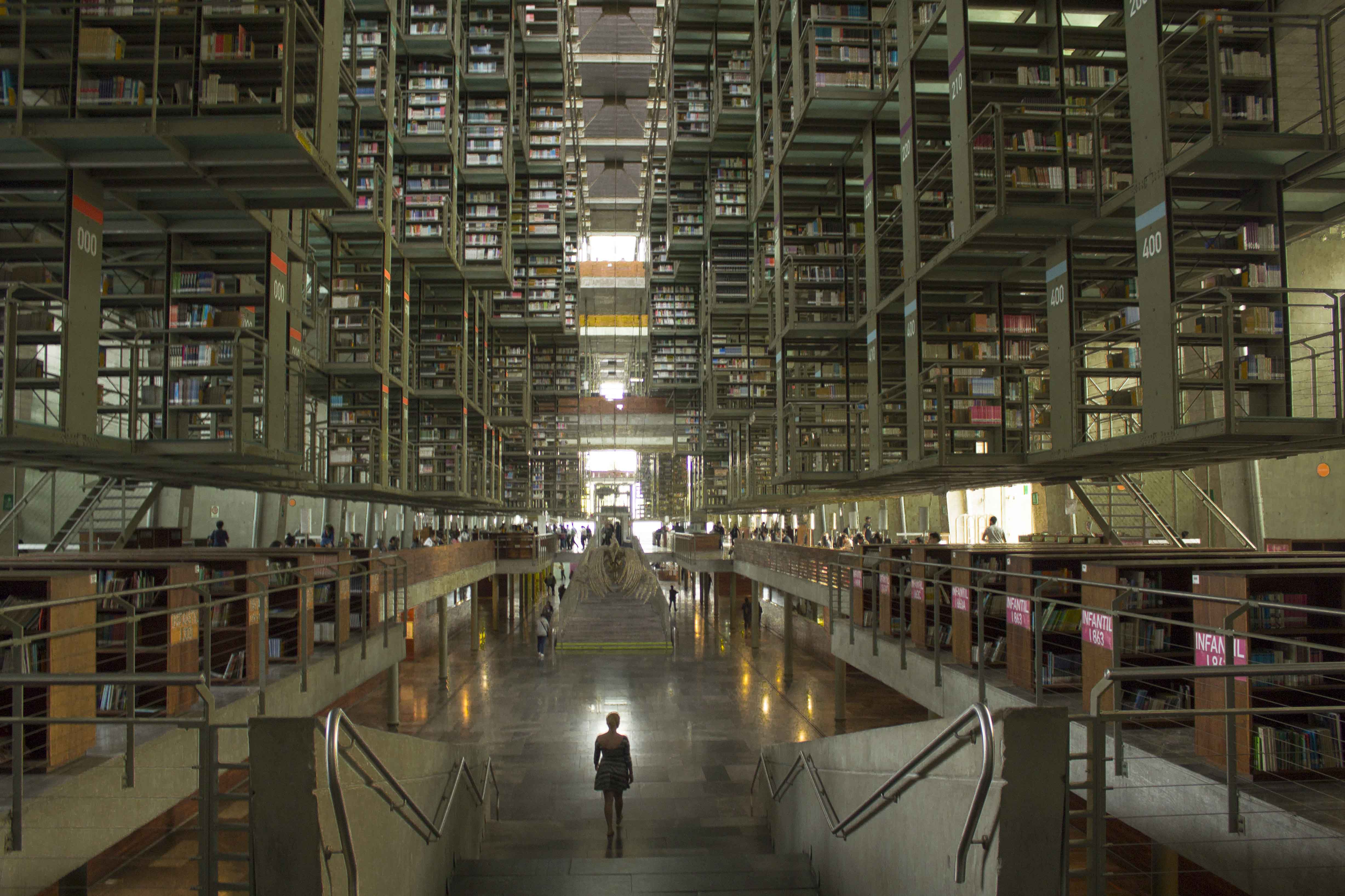 Biblioteca Vasconcelos library in Mexico City