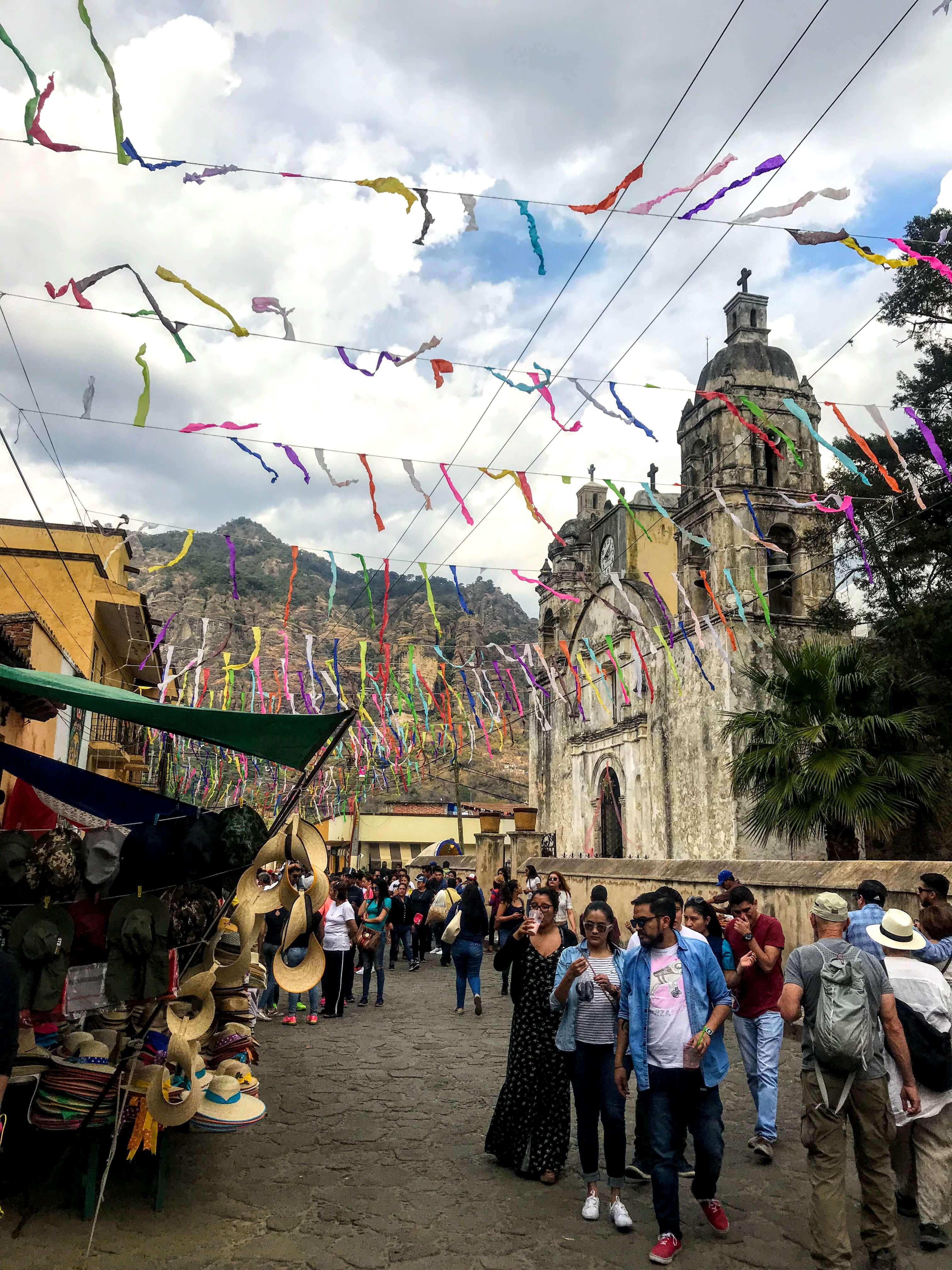 downtown Tepoztlan