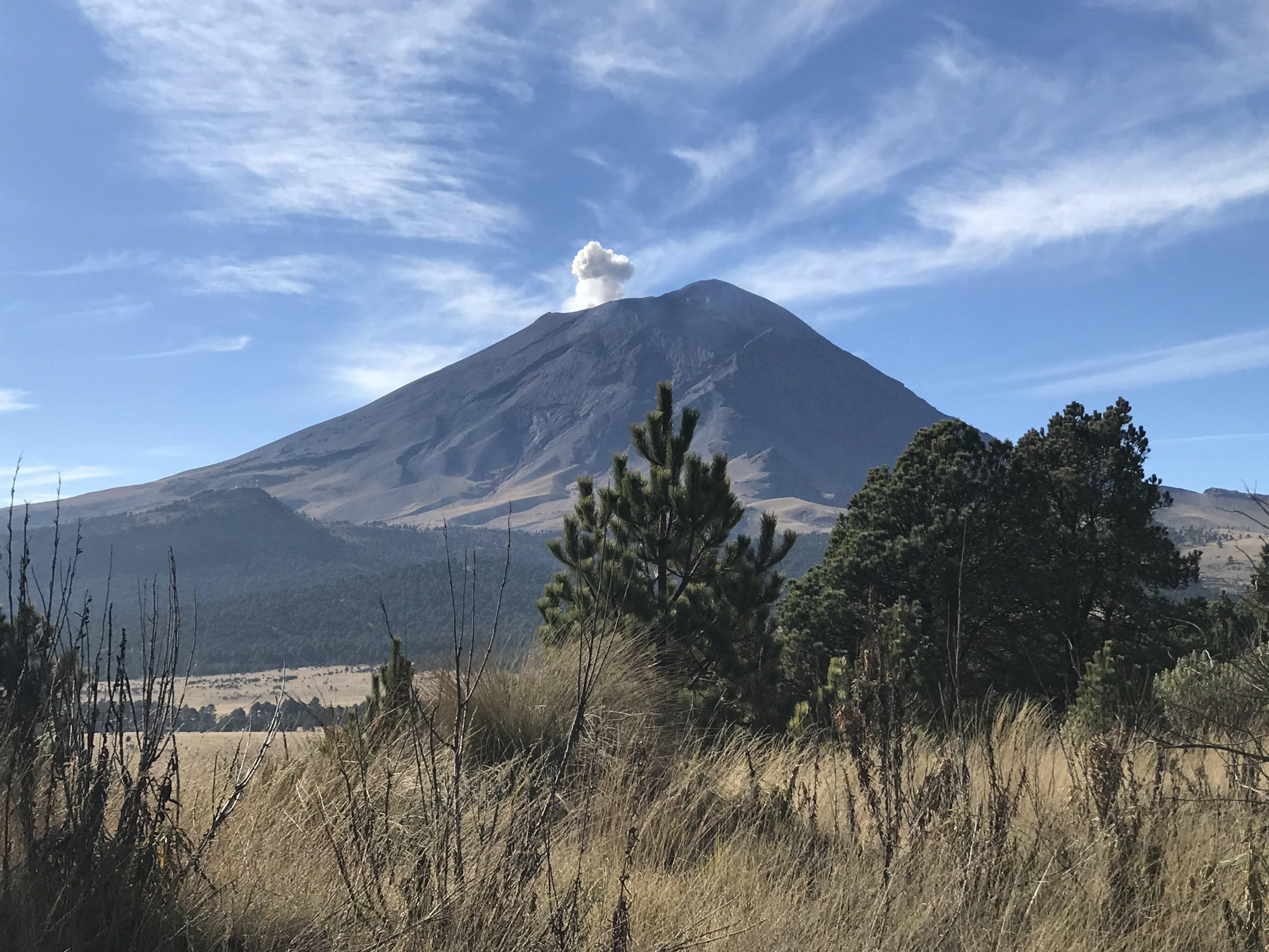 Popo Volcano in Mexico