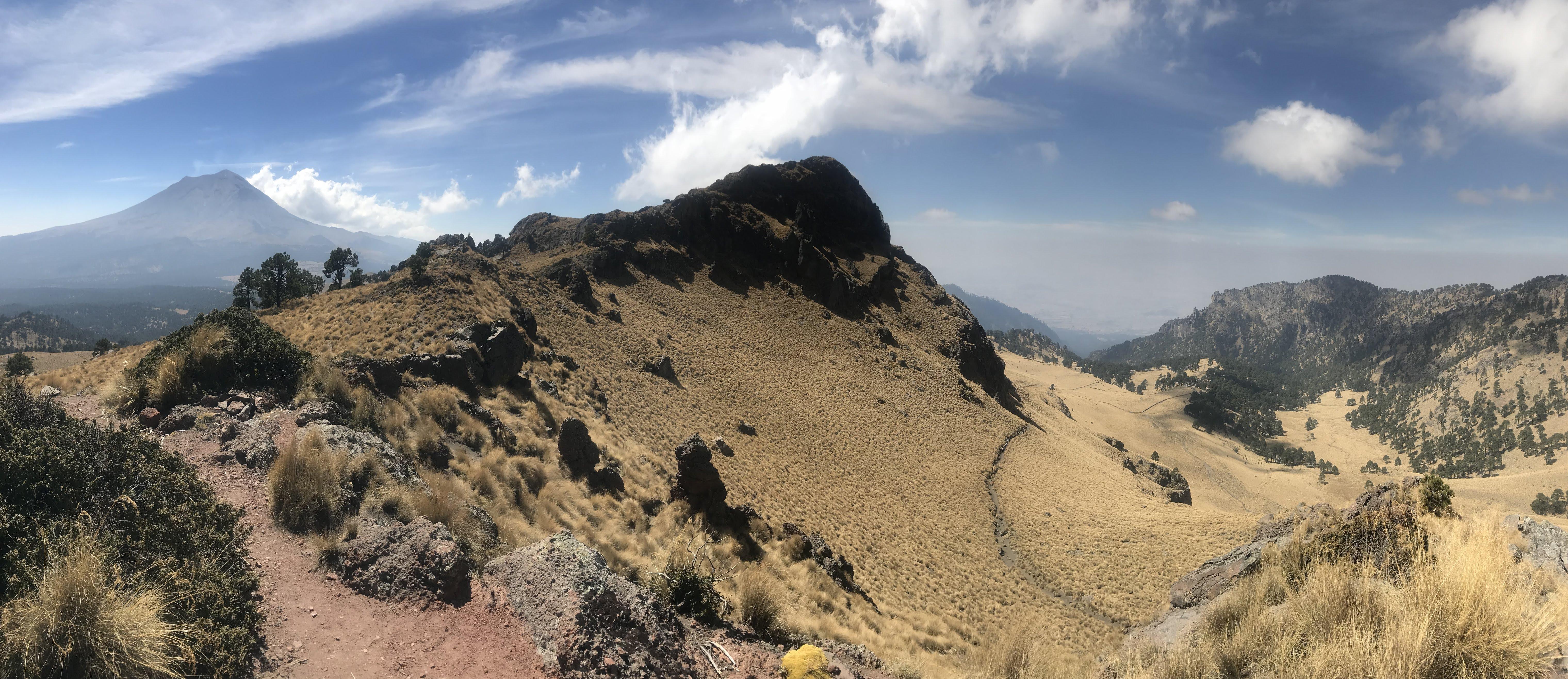 hiking in Izta-Popo National Park