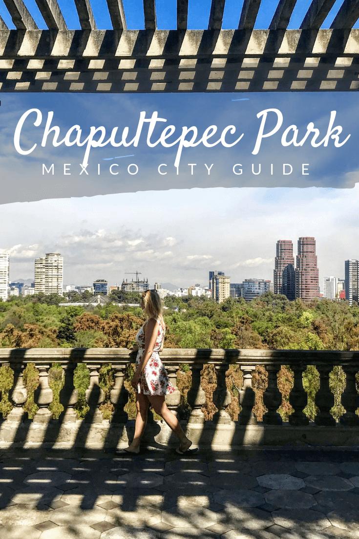 Chapultepec Park Pinterest pin