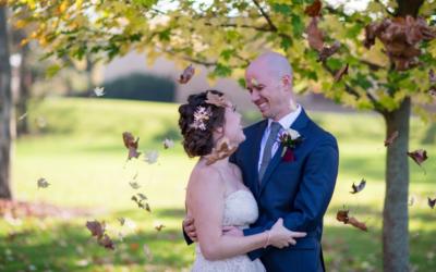 Dan and Di's Fall Wedding in Dayton, Ohio
