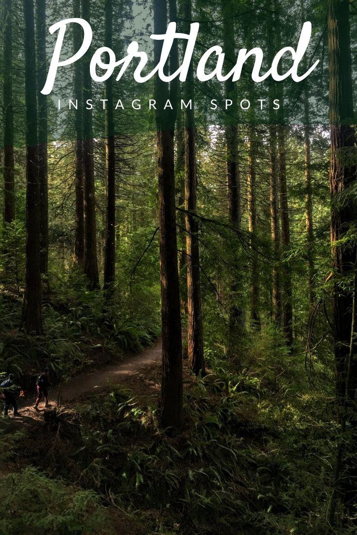 Portland Instagram spots Pinterest pin