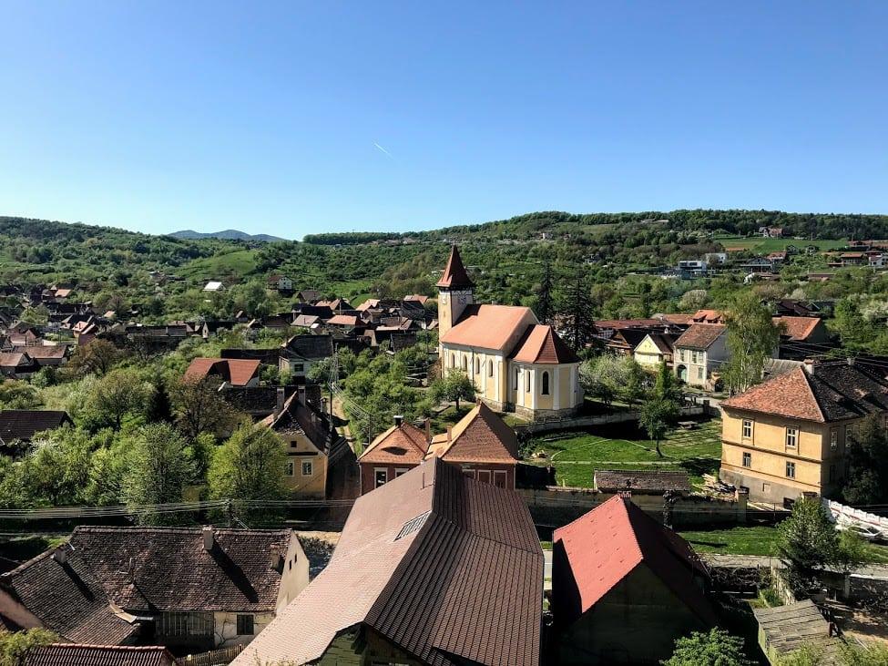 Cisnadiora a small town near Sibiu