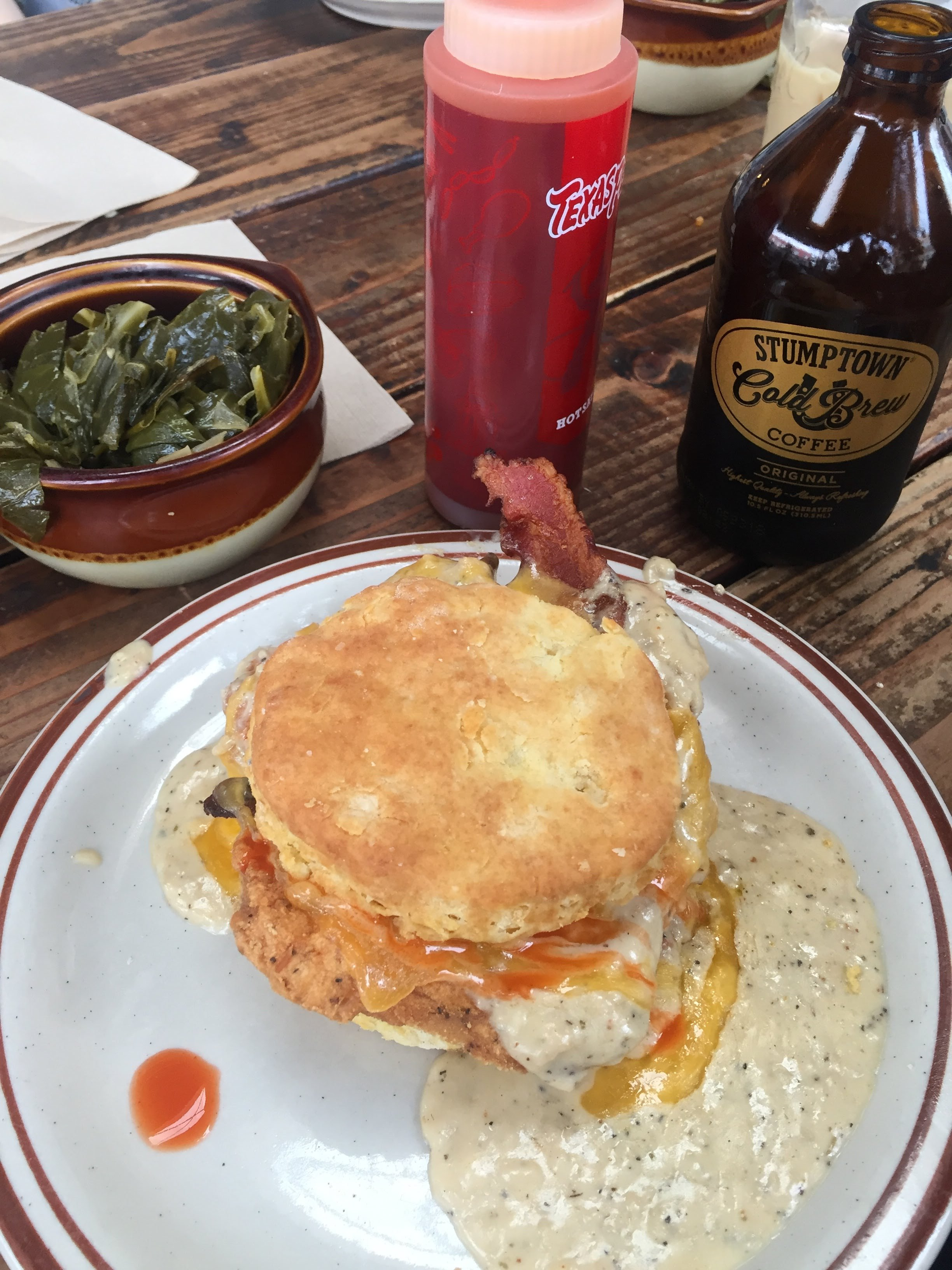 biscuit sandwich from Pine State Biscuits