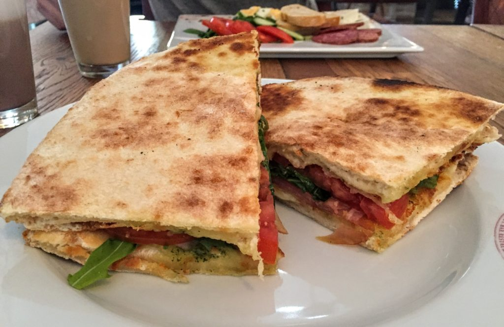 sandwich from Lilli's cafe