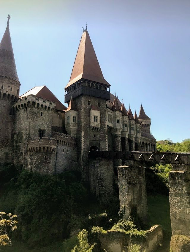 Corvin Castle near Sibiu, Romania