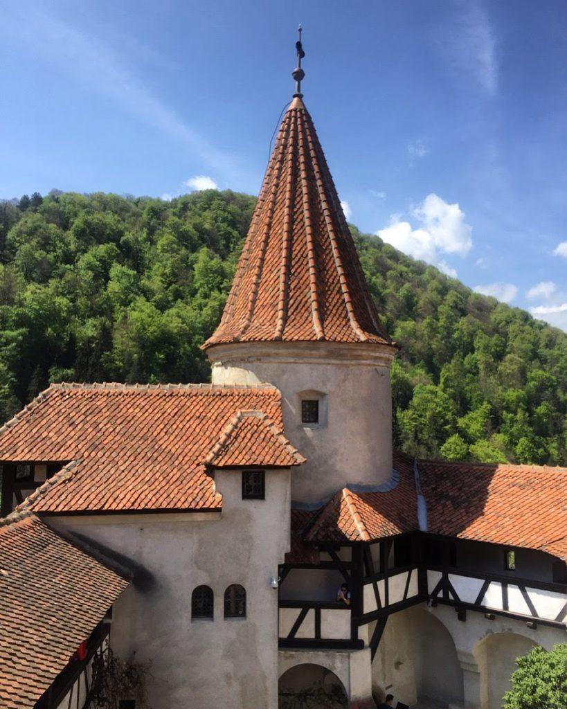 Bran Castle near Brasov, Romania
