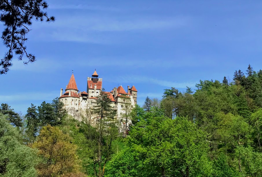 Bran Castle in Brasov, Romania