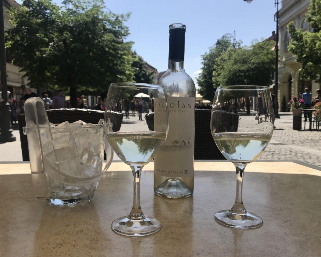 day drinking in Sibiu at Enzo Ristorante