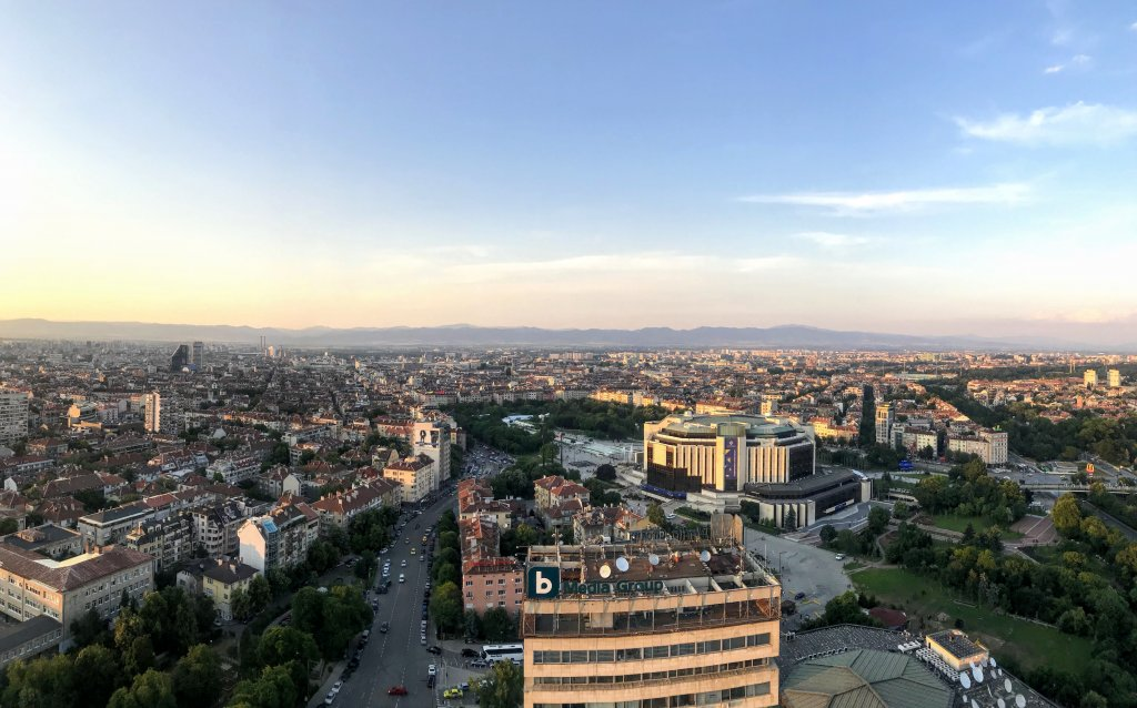 The View Restaurant in Sofia