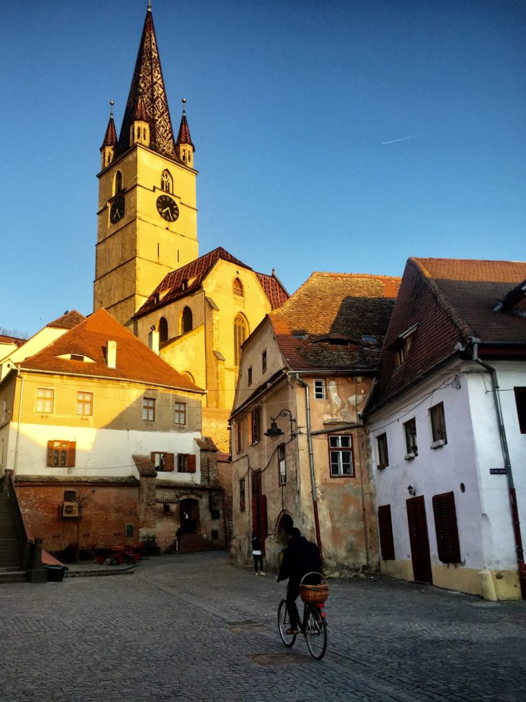 Sibiu historic town in Transylvania
