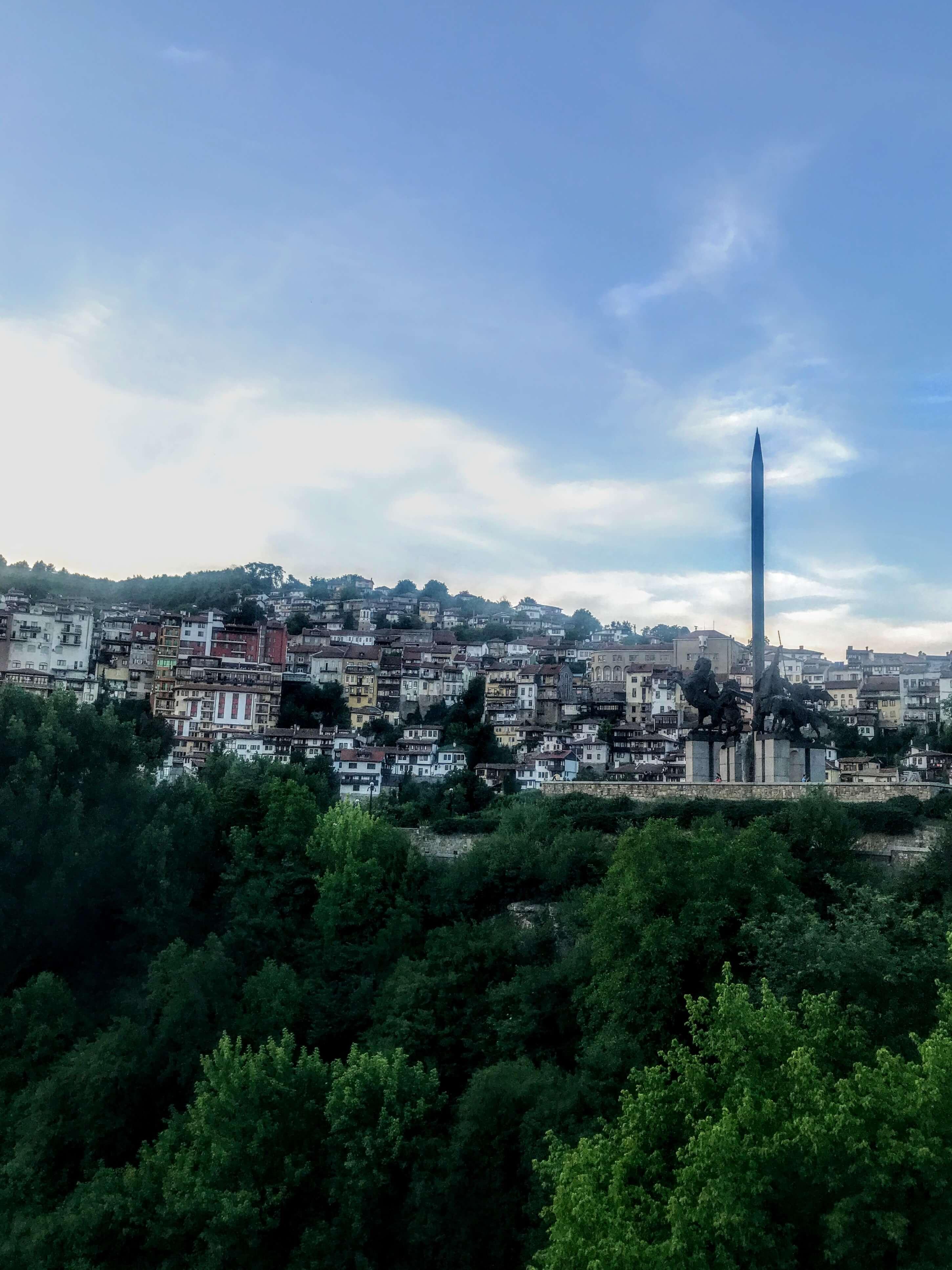 Asen's Monument in Veliko Tarnovo
