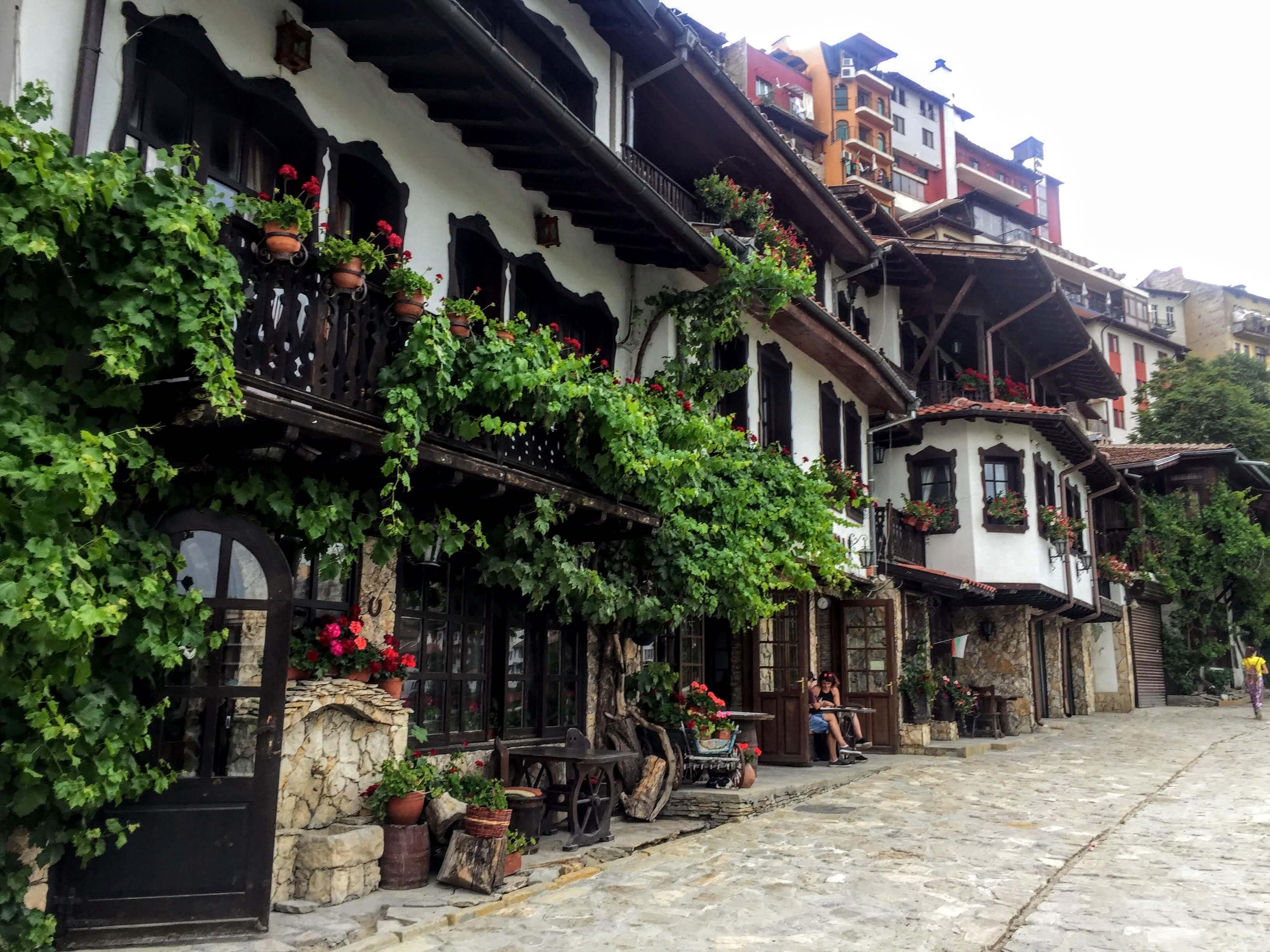 Gurko Street in Veliko Tarnovo