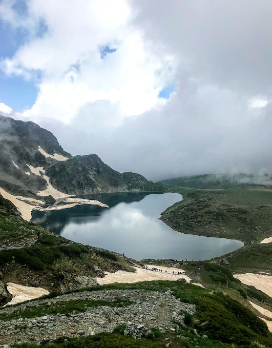 Seven Rila Lakes hike in Bulgaria