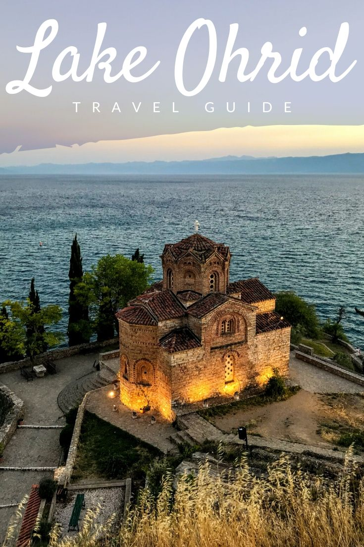 Lake Ohrid Pinterest pin
