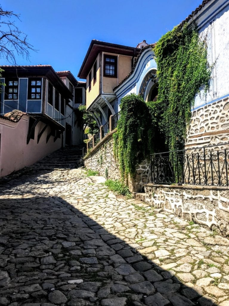 old town of Plovdiv, Bulgaria