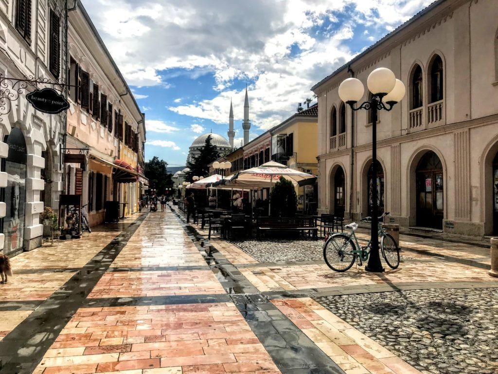 Old Town in Shkoder, Albania