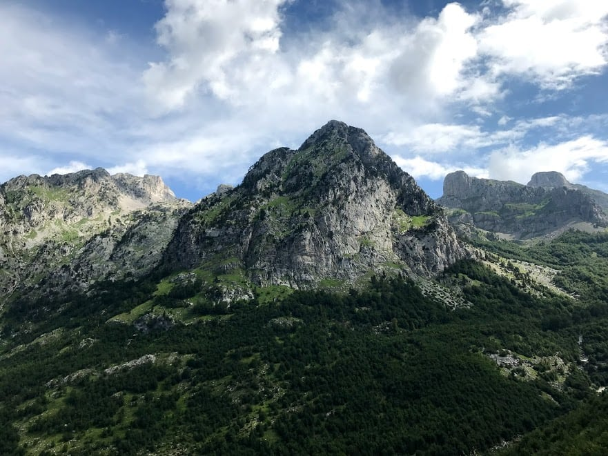 Albania's Accursed Mountains in Theth National Park