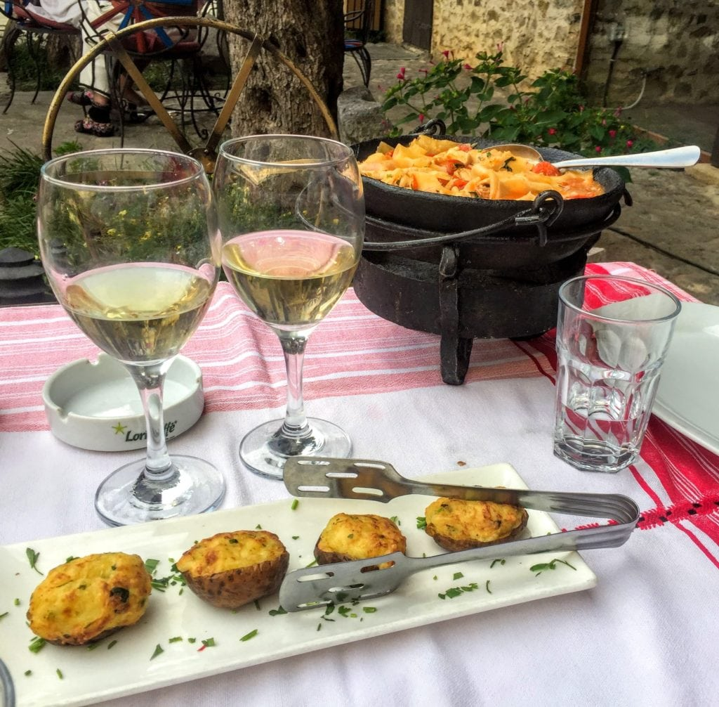 traditional Albanian food in Shkoder