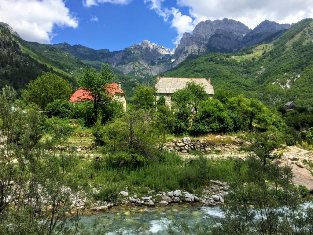 guesthouses in Theth, Albania