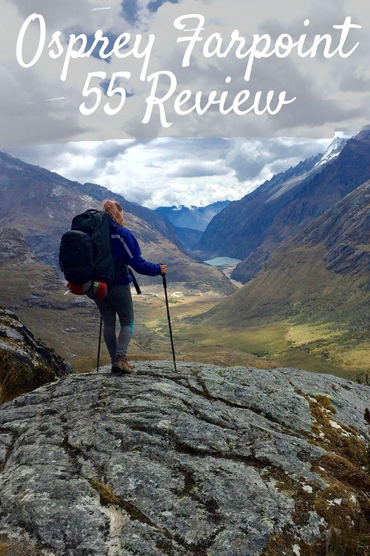 Osprey Farpoint 55 Review Pinterest pin