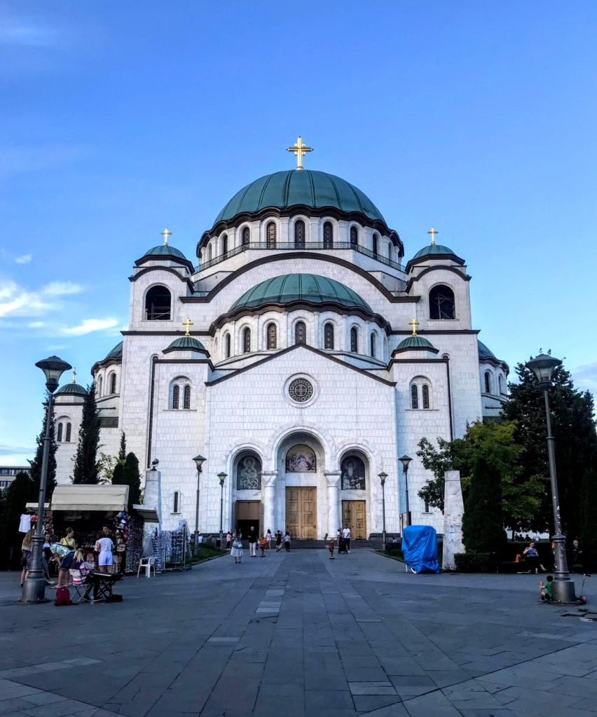 Temple of St Sava in Belgrade