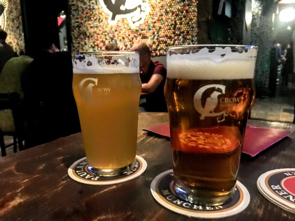 craft beer in Belgrade at Gunner's Pub